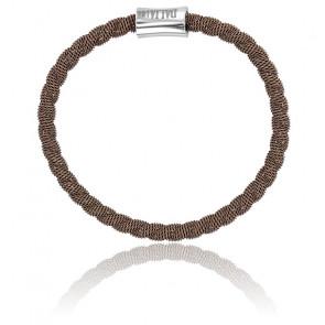 Bracelet Bébé Factory Bronze Chocolat