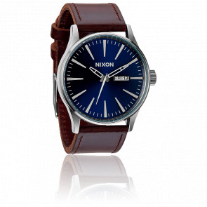 Sentry Leather  Blue / Brown A105-1524