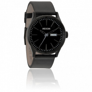 Sentry Leather All Black A105-001