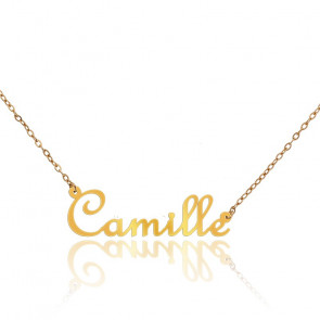 Collier Camille Or Jaune 18K