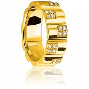 Alliance Les Temps Modernes Diamants & Or Jaune 18K