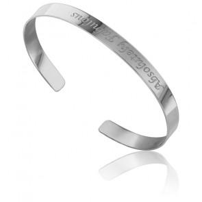 Bracelet Jonc Absolutely Fabulous Argent