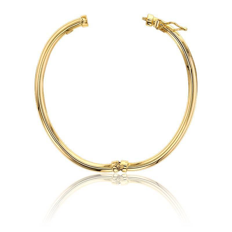 bracelet jonc en or jaune 9 carats lucas lucor ocarat. Black Bedroom Furniture Sets. Home Design Ideas