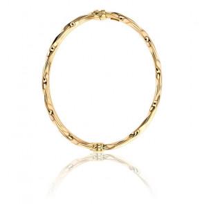 Bracelet Double Jonc en Or Jaune - Lucas Lucor