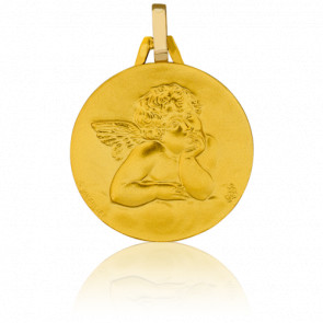 Médaille Ange Raphaël Or Jaune 18K