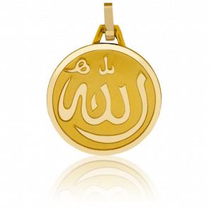 Médaille Allah Or Jaune 18K