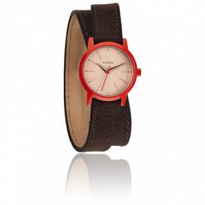 The Kenzi Wrap Brown / Coral A403-1655