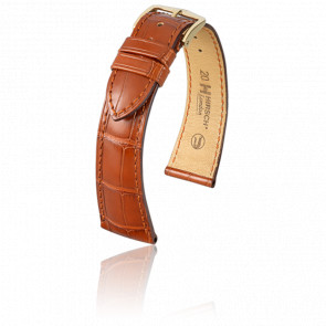 Bracelet London Marron Doré - Entrecorne 19 mm