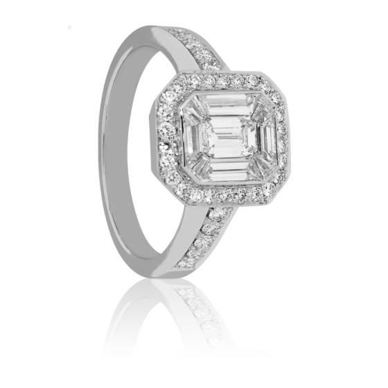 bague diamant 25 points
