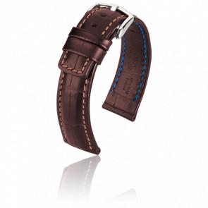 Bracelet Grand Duke Marron - Entrecorne 22 mm
