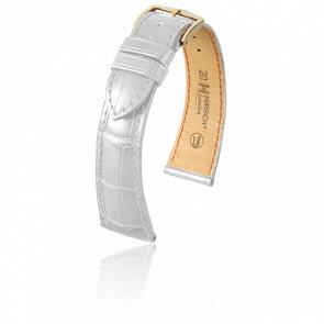Bracelet London Blanc Mat - Entrecorne 21 mm