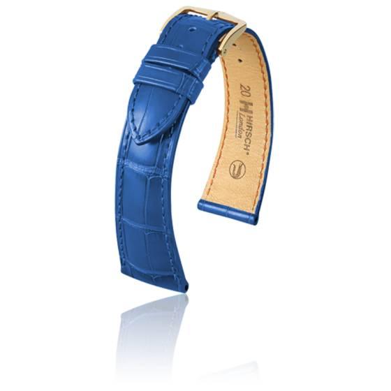 Bracelet London Bleu Roi Mat Entrecorne 20 Mm Hirsch
