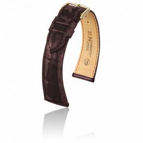 Bracelet London Marron Brillant - Entrecorne 18 mm