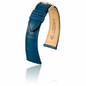 Bracelet London Bleu Mat - Entrecorne 16 mm
