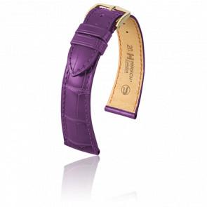 Bracelet London Violet  Mat - Entrecorne 19 mm