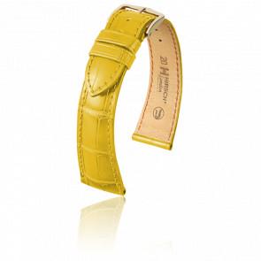 Bracelet London Jaune Mat - Entrecorne 17 mm