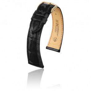 Bracelet London Noir Brillant - Entrecorne 20 mm