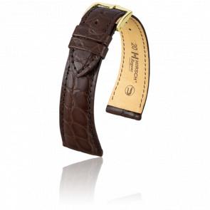 Bracelet Regent Marron Mat - Entrecorne 20 mm