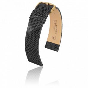 Bracelet Lizard Noir - Entrecorne 20 mm