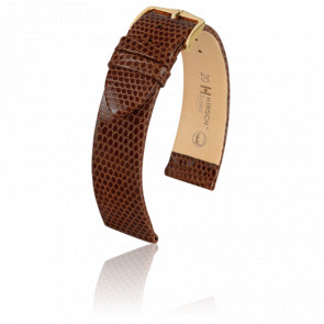 Bracelet Lizard Marron - Entrecorne 16 mm