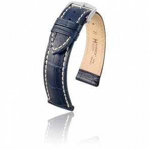Bracelet Modena Bleu - Entrecorne 20 mm