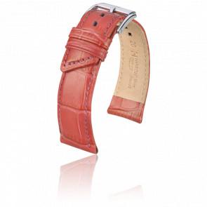 Bracelet Princess Rouge Corail - Entrecorne 18 mm