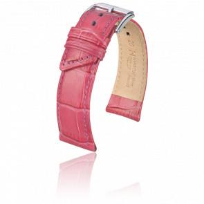 Bracelet Princess Rose Vif - Entrecorne 18 mm - Hirsch