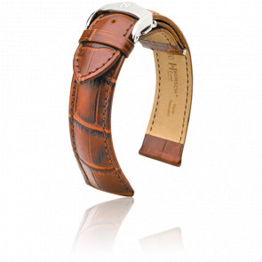 Bracelet Lord Marron Doré / Silver - Entrecorne 22 mm