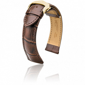 Bracelet Lord Marron / Gold  - Entrecorne 20 mm
