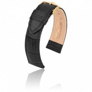 Bracelet Duke Noir / Gold - Entrecorne 16 mm