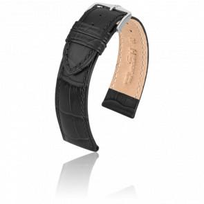 Bracelet Duke Noir / Silver - Entrecorne 20 mm