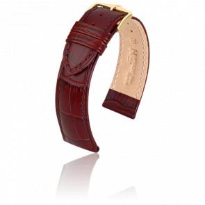 Bracelet Duke Bordeaux - Entrecorne 20 mm