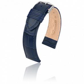 Bracelet Duke Bleu / Silver - Entrecorne 22 mm