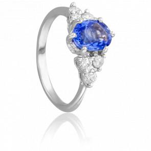Bague Vsevidof, Saphir et Diamants