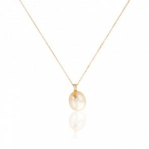 Collier Penobcot, Perle et Diamants