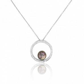 Collier Passaic, Perle et Diamants