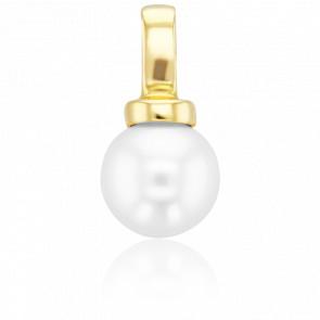 Pendentif Perle Blanche Ø8,50-9 mm