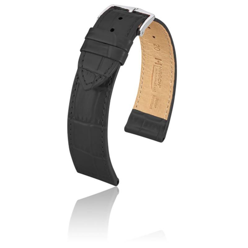 Bracelet Louisianalook Noir / Silver - Entrecorne 22 mm