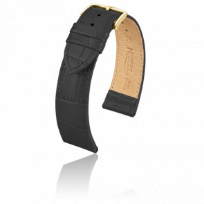 Bracelet Louisianalook Noir / Gold - Entrecorne 18 mm