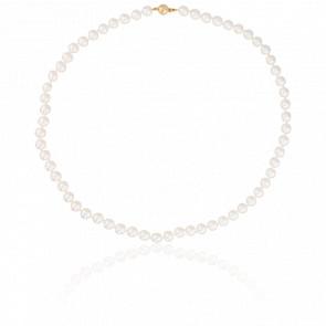 Collier Perles Akoya Ø6,50-7 mm