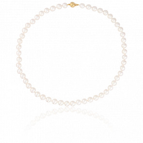 Collier Perles Akoya Ø7,50-8 mm