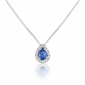 Collier Tully, Saphir et Diamants