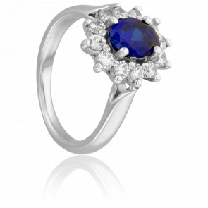 Bague Steller Saphir et Diamants - Porchet
