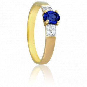 Bague Debre Saphir & Diamants