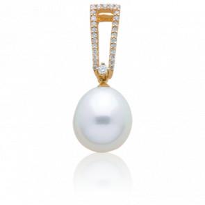Pendentif Douce Perle Or Jaune