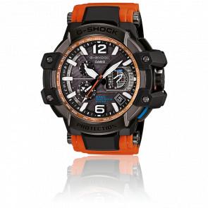 Montre GPS Hybride Waveceptor / Orange GPW-1000-4AER - G-Shock Casio