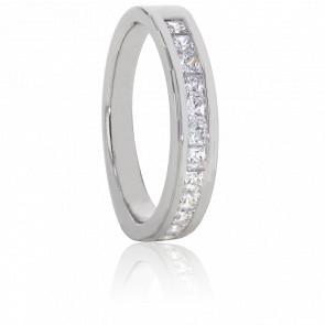 Alliance Alexas, Diamants 0,40 ct & Or Blanc 18K