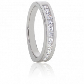 Alliance Alexas, Diamants 0,40 ct & Platine