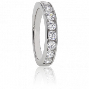 Alliance Anténor, Diamants 1 ct & Or Blanc 18K
