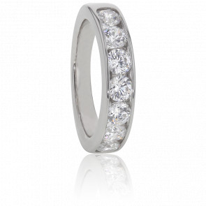Alliance Anténor, Diamants 1,30 ct & Or Blanc 18K